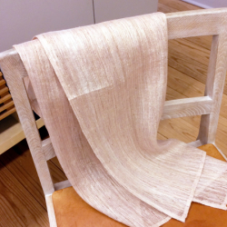 手織り葛布のスカーフ