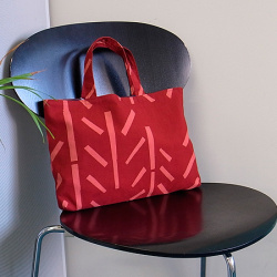 型染めのバッグ<B5>/山内武志さん(静岡県浜松市アトリエぬいや/山内染色工房)