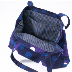 型染めのトートバッグ<B4サイズ>