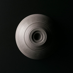 T.I.E 飯碗(黒褐色1) 〜つくり手 アサ佳さん〜(岐阜県土岐市)