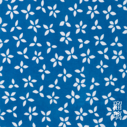 型染めの手ぬぐい勿忘草(わすれなぐさ)> /作り手 山内武志さん(山内染色工房/アトリエぬいや)
