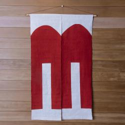 型染めの暖簾