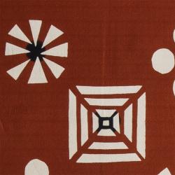 型染めの多用布190×120 (マルチクロス・テーブルクロス・スロー) <花小匣>/山内武志さん(山内染色工房・アトリエぬいや)