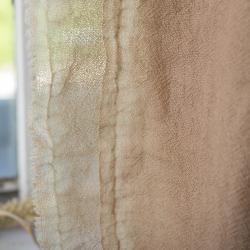 知多木綿ガラ紡ストールマフラー