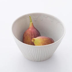 青白磁 しのぎ切立鉢 ~つくり手 竹下努さん~(岐阜県土岐市)