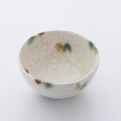 粉引三彩 飯碗 ~つくり手 竹下努さん~(岐阜県土岐市)