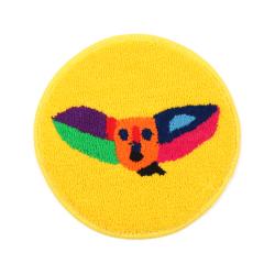コウモリの小さな円形絨毯 class=